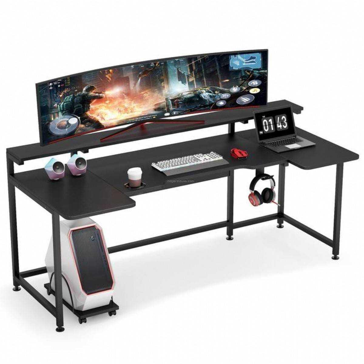 Zizuva Tasarım  Oyuncu Gaming  Metal Çalışma Masası