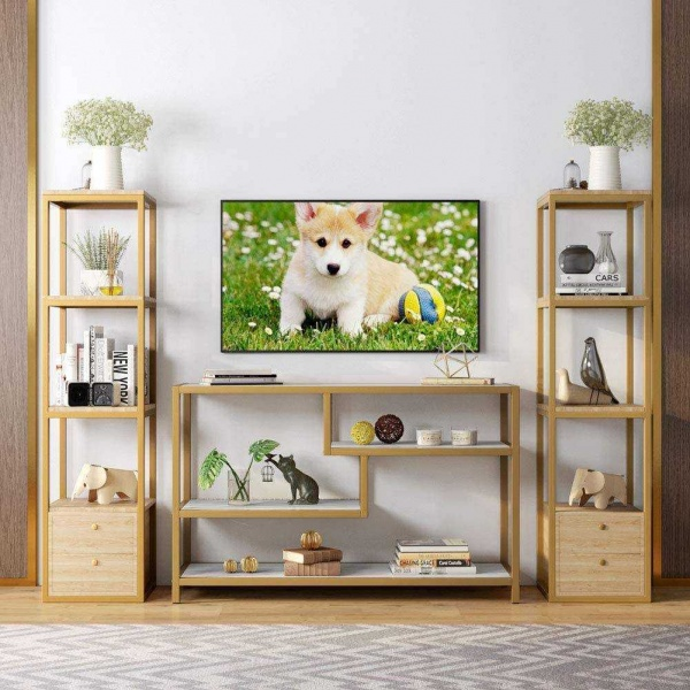 Zizuva Gold Tasarım Tv Sehpası